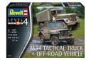 1/35 US M34 truck and Jeep w/ soldiers