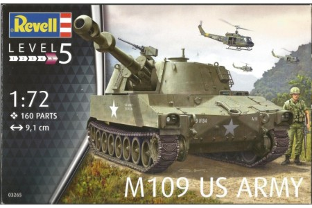 1/72 M-109 US Army