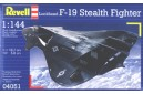 1/144 Lockheed F-19 stealth fighter