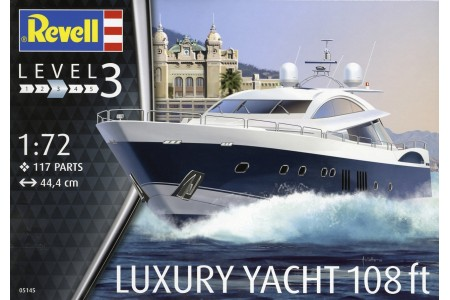 1/72 Luxury Yacht 108ft