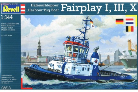 1/144 Harbour tug boat Fairplay
