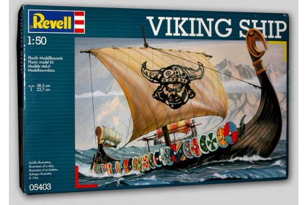 1/50 (1/48) Viking ship