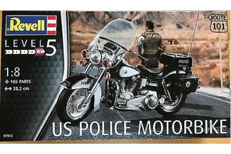 1/8 US POLICE MOTORBIKE