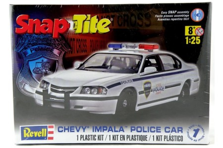 1/25 Chevy Impala Police car
