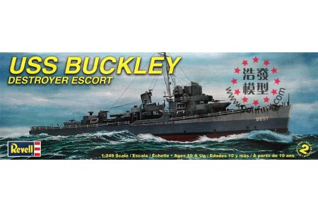 1/200 (1/249) USS Buckley destroyer escort