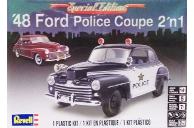 1/25 Ford Police Coupe 2 in 1