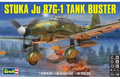 1/48 Ju-87G-1 Stuka tank buster