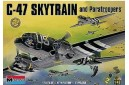 1/48 C-47 Skytrain and paratroopers