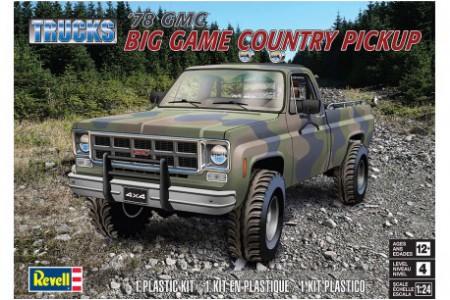 1/24 GMC Big game country pickup
