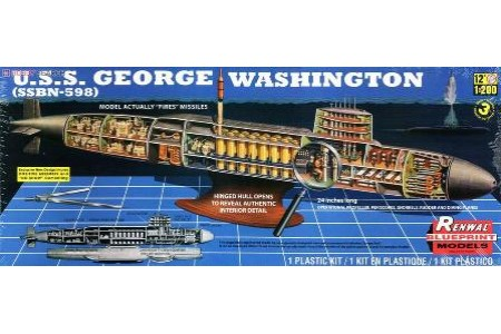 1/200 (1/144) USS George Washington