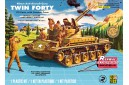1/32 US Army M-42 w/ 5 figures