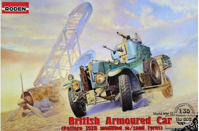 1/35 British armoured car WWI 1920 pattern