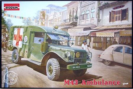 1/35 M43 US ambulance