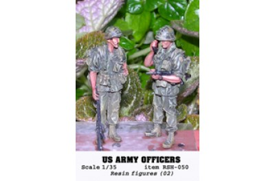 1/35 US ARMY OFFICERS