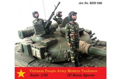 1/35 Vietnam People Army modern tankmen