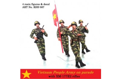 1/35 Vietnam People Army on parade