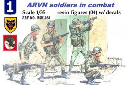 1/35 ARVN soldiers in combat