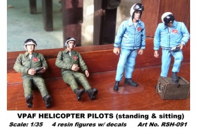 1/35 VPAF helicopter pilot (for Mi-8 and Mi-24)