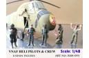 1/48 VNAF Heli Pilots and crew set