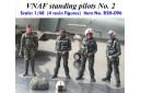 1/48 VNAF standing pilots No. 2