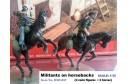 1/35 Militants on horse backs