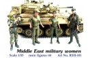 1/35 Middle East military women