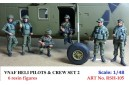 1/48 VNAF Heli Pilots and crew set 2