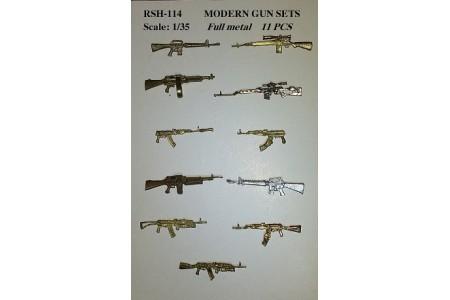 1/35 Full metal gun sets (11 pcs)