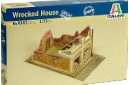 1/72 Wrecked house