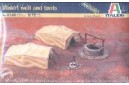 1/72 Desert well and tents