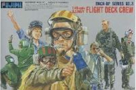 1/48 US Navy pilots and crew
