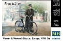 1/35 Woman with bicycle