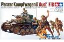 1/35 Panzerkampfwagen II Ausf F/G with soldiers