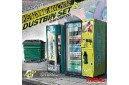 1/35 Vending machine and dustbin set