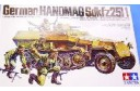 1/35 German Hanomag Sdkfz 251/1 w/soldiers