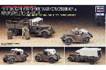 1/48 Kurogane 4WD & Isuzu TX-40 truck