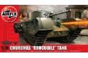 1/72 (1/76) Churchill Crocodile tank