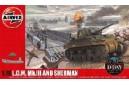 1/72 (1/76) LCM MK III and Sherman tank