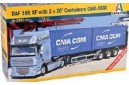 1/24 DAF 105 XF with 2X20' containers