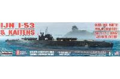 1/72 Japanese I-53 Submarine with 4 Kaitens