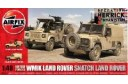 1/48 WMIK & Snatch Land Rovers (2 kits)