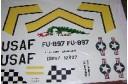 1/32 Decal USAF F-86 Sabre