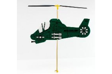 Military helicopter (flying toy)