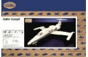 1/48 Gates Learjet commercial plane