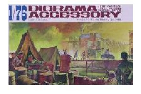 1/72 (1/76) Diorama accessory set