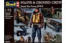 1/72 Pilots & ground crew Royal AF WW2