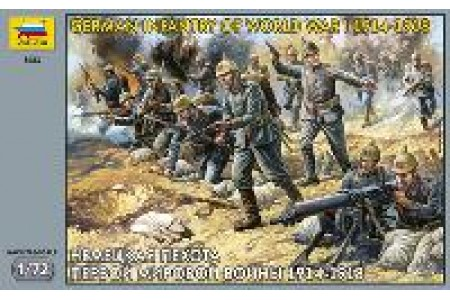 1/72 German infantry WWI
