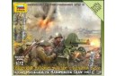 1/72 Soviet gun Maxim w/ crew
