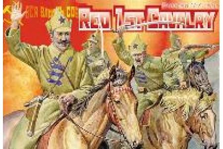1/72 Red 1st cavalry Russian civil war