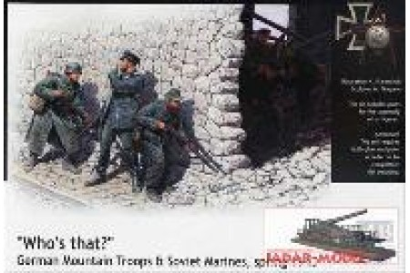 1/35 Who's that: german and soviet marines